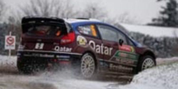 Malcolm Wilson contento con los scratch de sus pilotos en el Monte-Carlo