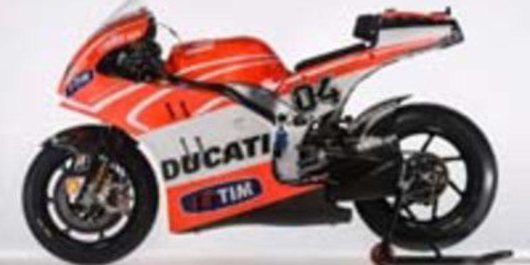 Conoce la nueva Ducati Desmosedici GP13