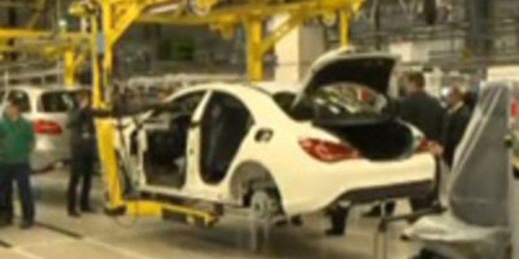 El nuevo Mercedes-Benz CLA comienza su producción en serie