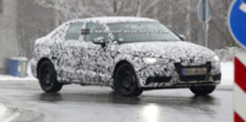 El nuevo Audi A3 Sedan en plenos test