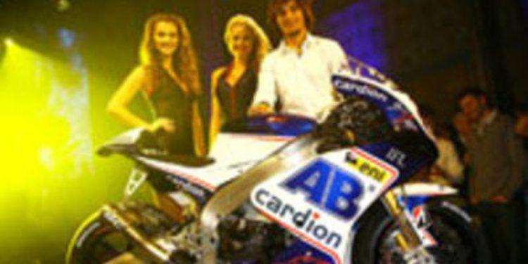 Cardion AB y Karel Abraham presentan su montura CRT