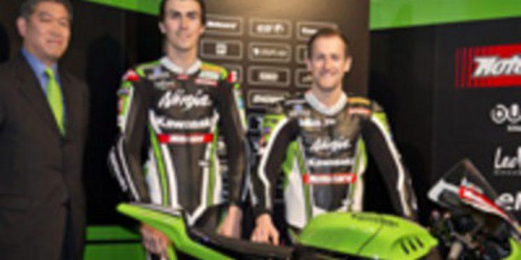 El equipo Kawasaki Racing de SuperBikes realiza su presentación