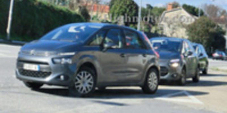 El nuevo Citroën C4 Picaso se ha vuelto a ver sin camuflar, esta vez por Vigo
