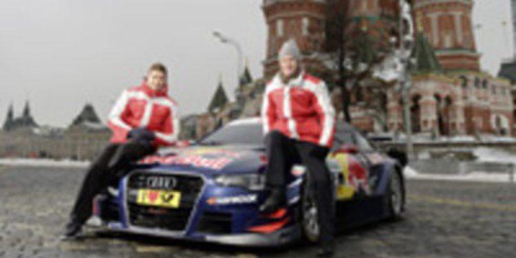 El Audi A5 DTM se presenta en Moscú