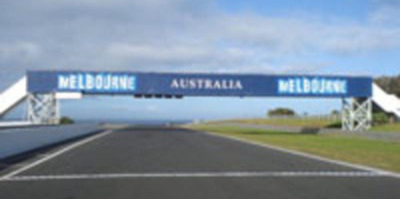 Test privado del Mundial de SuperBikes en Phillip Island