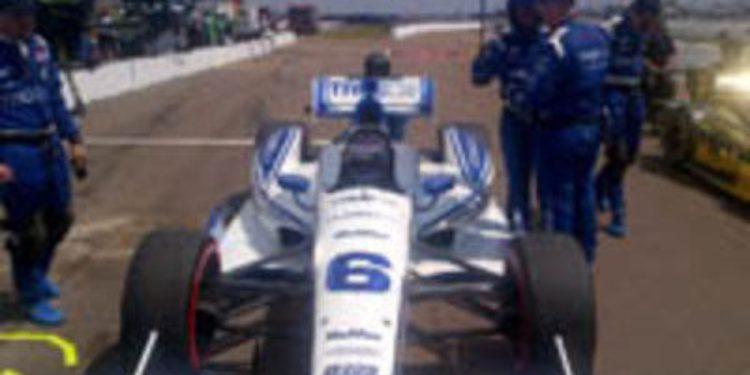 Katherine Legge se plantea demandar a Dragon Racing