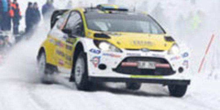 Pontus Tidemand sorprende en M-Sport