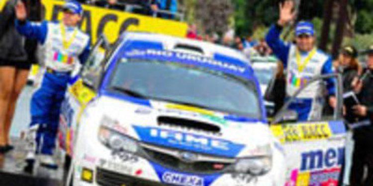 Marcos Ligato en el WRC2 con un Impreza Sedán R4