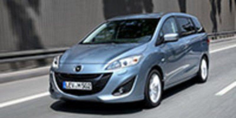 Nuevos equipamientos para el Mazda 5