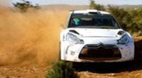 Test de Benito Guerra con el Citroën DS3 WRC