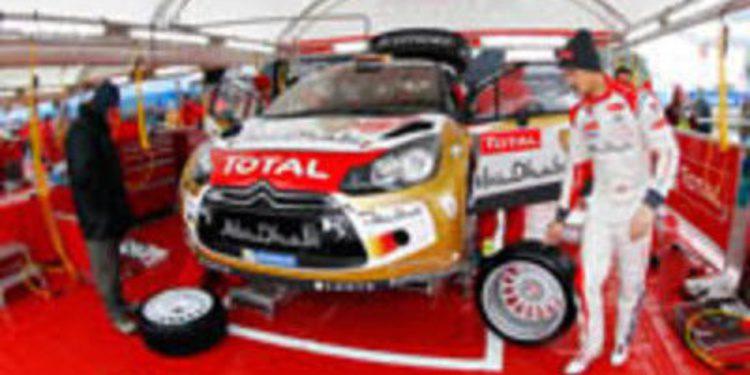 Dani Sordo de test con el DS3 WRC en Portugal