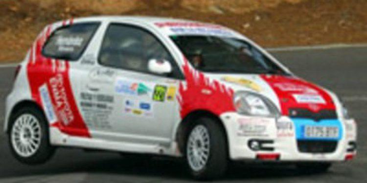 El Rally Islas Canarias con los pilotos locales