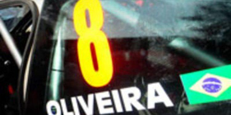 Daniel Oliveira en Canarias con un Fiesta RRC