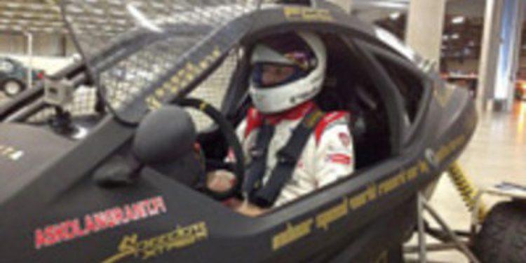 Mikko Hirvonen bate el Récord Guinness de velocidad indoor