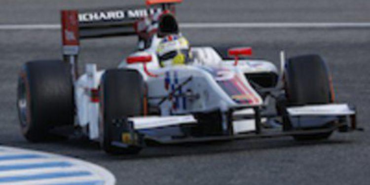 James Calado cierra los primeros test de GP2 del año en cabeza