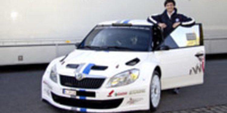 Sepp Wiegand probador de Volkswagen en el WRC