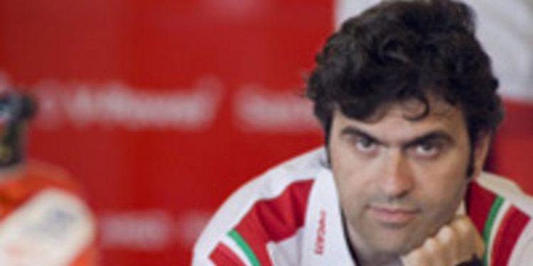Ducati sufre la baja de Filippo Preziosi
