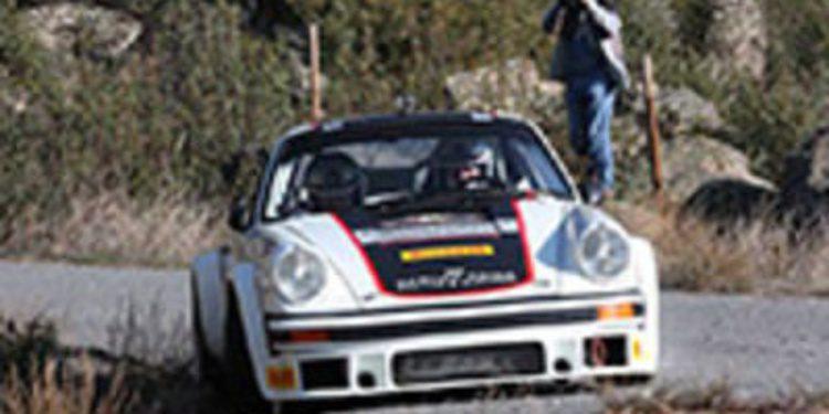Carlos Sainz cumple los pronósticos en el Rally de España Histórico