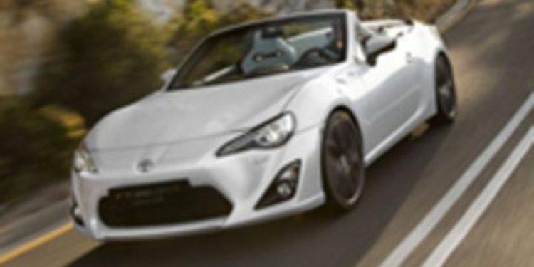 Toyota nos sorprende una vez más con el FT 86 Open Concept