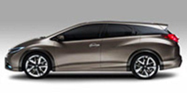 Honda deja ver el Civic Tourer Concept