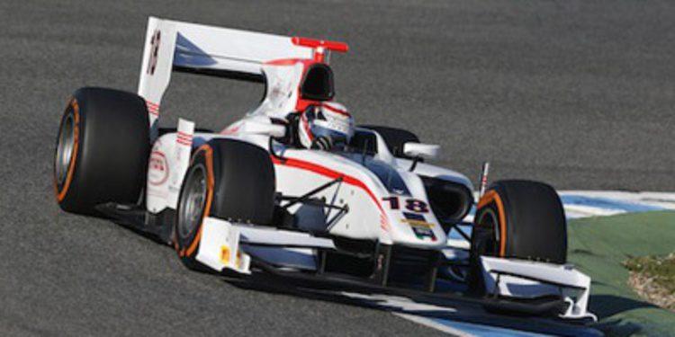 Stefano Coletti termina arriba la pretemporada de GP2 en Barcelona