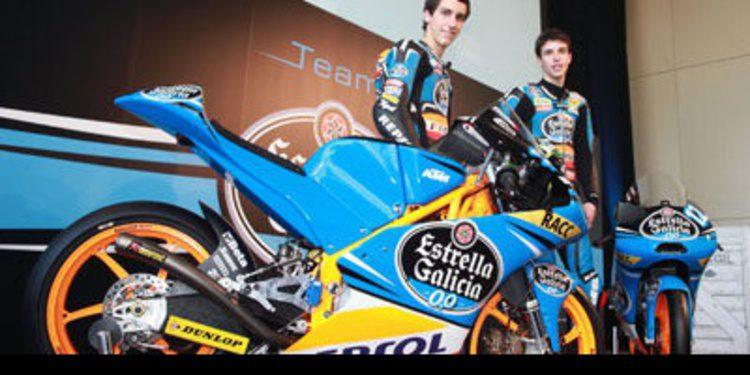El Team Estrella Galicia 0,0 Moto3 ve la luz