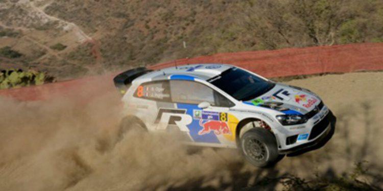 Sebastien Ogier es líder del Rally de Mexico tras el SS2