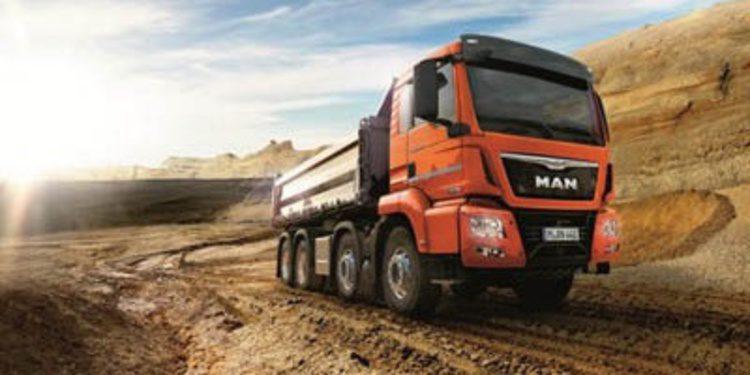 MAN presentará su gama de camiones en Bauma 2013
