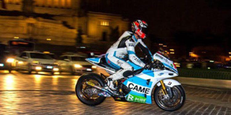 Una MotoGP por las calles de Roma