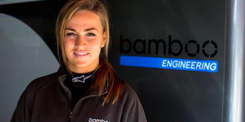 Carmen Jordá une fuerzas con Bamboo Engineering en GP3