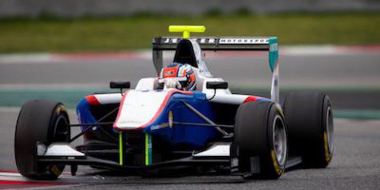 Patric Niederhauser cierra el test GP3 de Montmeló con el mejor crono