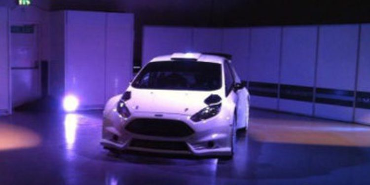 Presentación oficial del Ford Fiesta R5