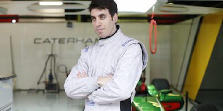 Sergio Canamasas completa la alineación de Caterham en GP2