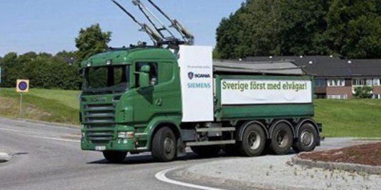 Scania y Siemens trabajan en el camión eléctrico perfecto