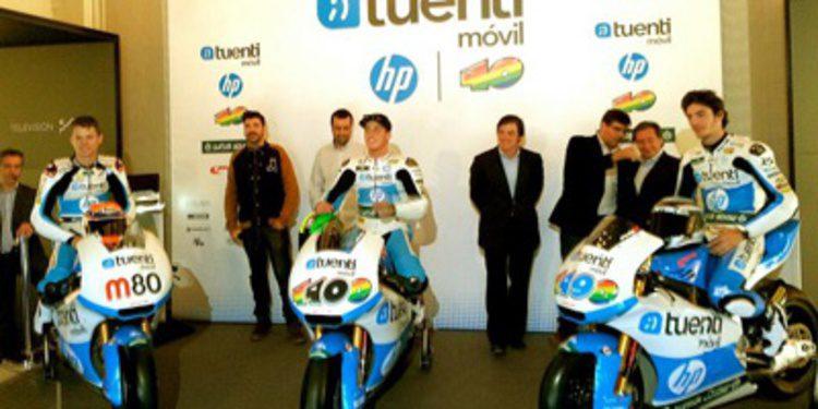 El Tuenti HP 40 de Espargaró se muestra en Madrid