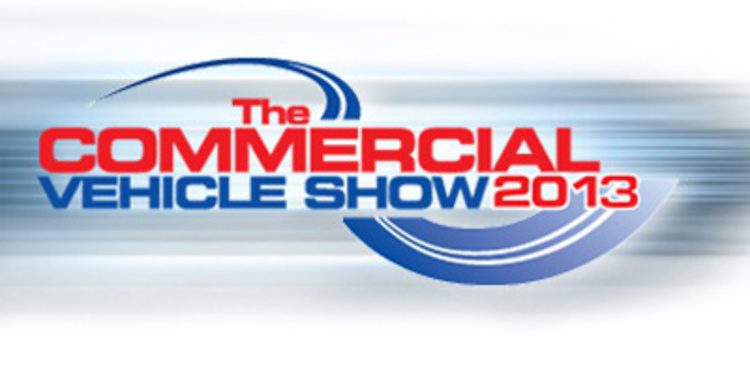 "Llega la cita del ""Commercial Vehicle Show"" 2013"