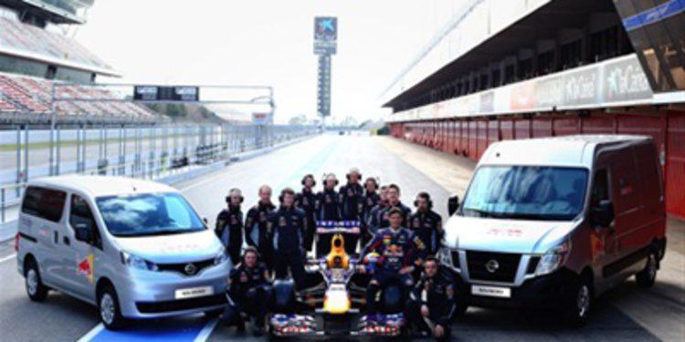 Los vehículos comerciales Nissan con Red Bull en F1