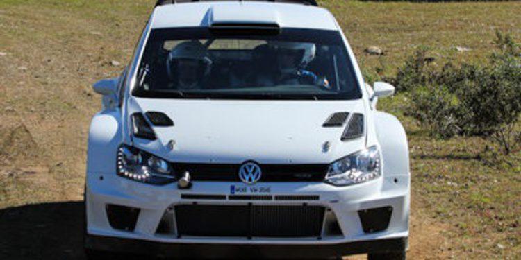 Latvala y Volkswagen de test en Portugal