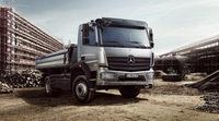 Tres estrenos de Mercedes en Bauma 2013