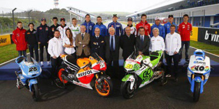 El equipo de Mediaset MotoGP se estrena en Jerez