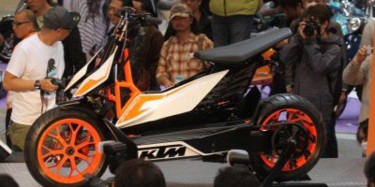 KTM presenta un scooter eléctrico: la E-Speed