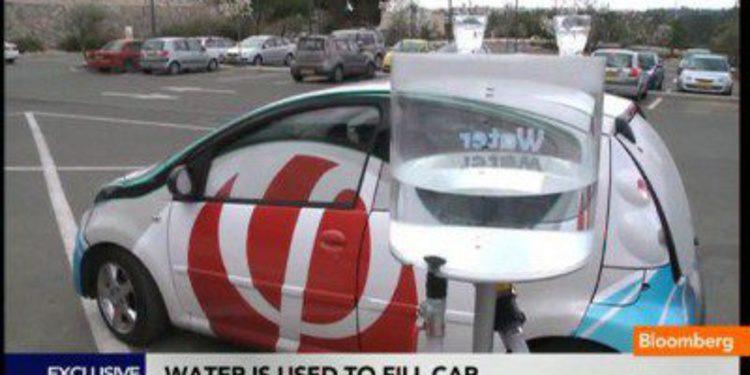 El coche propulsado por agua y aire ya es una realidad