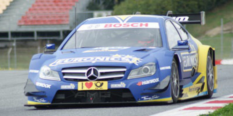 Test DTM Barcelona: Robert Wickens toma el mando