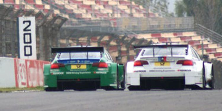 Test DTM Barcelona: Gary Paffett domina la segunda jornada