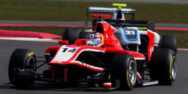 Tio Ellinas manda en la 1ª jornada de test de GP3 en Silverstone