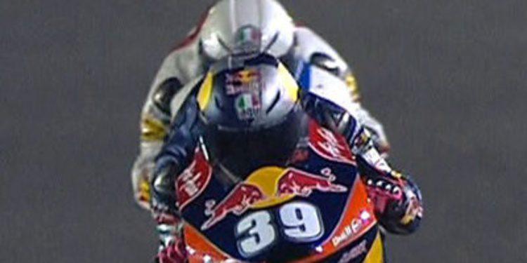 Luis Salom a lo suyo en los FP3 de Moto3 en Catar