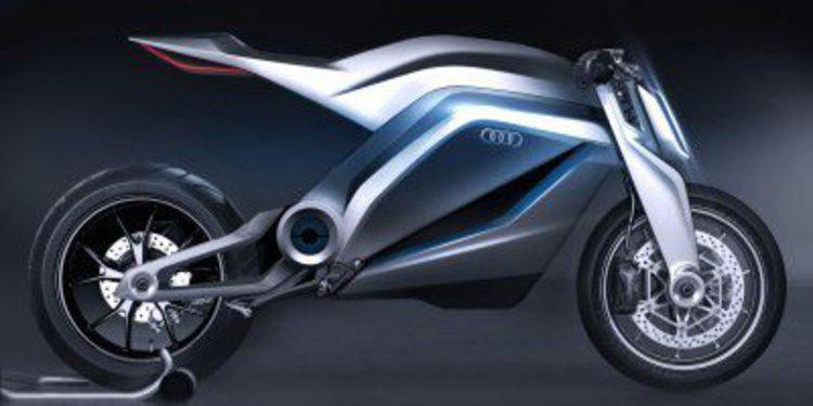 ¿Podría ser así una futura moto de Audi?