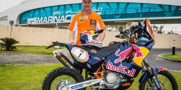 Marc Coma empieza su 2013 en Abu Dhabi