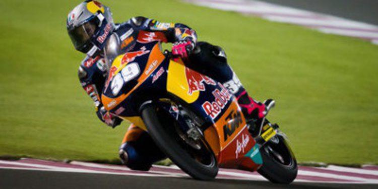 Luis Salom es el poleman de Moto3 en Catar