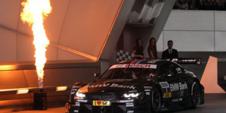 BMW presenta sus coches para la temporada 2013